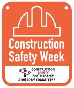 Construction Safety Week Logo
