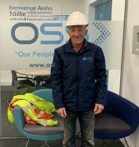 Bob with Jacket, Safety Awardee