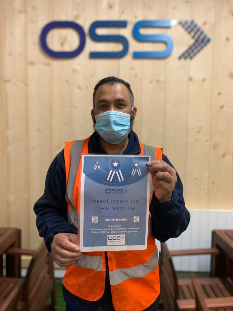 Harun Employee of the Month